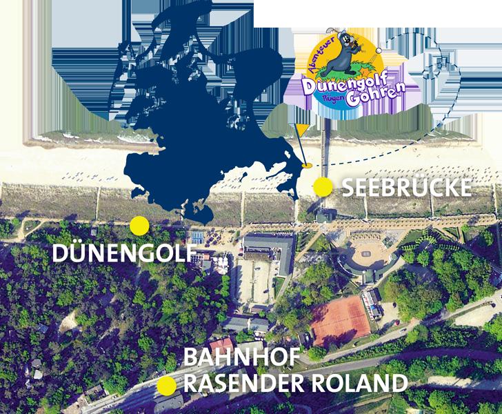 Insel Rügen Minigolf in Göhren
